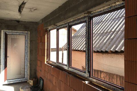 Tamplarie PVC cu geam termoizolant duplex